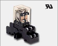 Altronix RAC24 UL Recognized relay and base - 24VAC operation 10 amp/120VAC/28VDC or 10 amp/277VAC DPDT contacts. 50mA current draw.-0