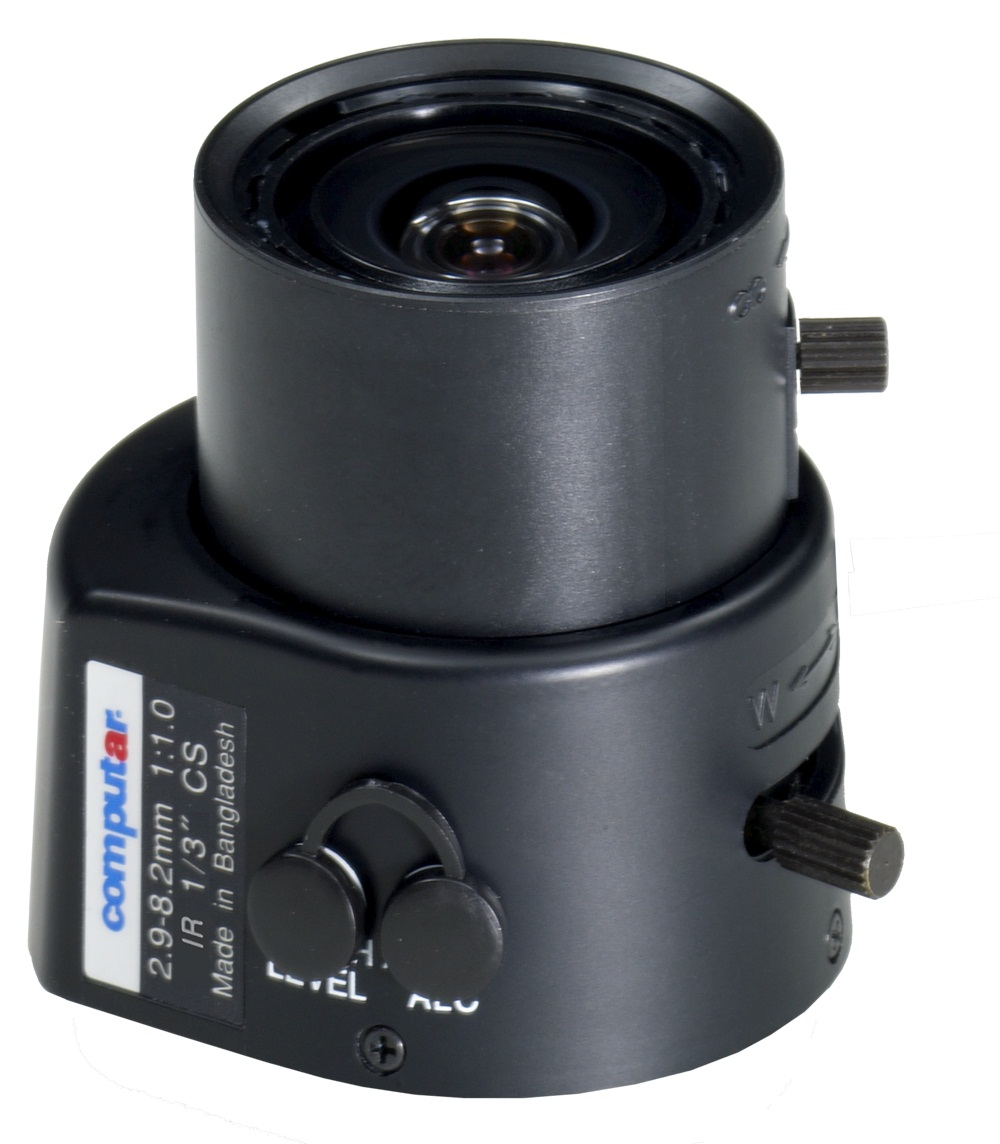 CBC TG3Z2910AFCS-IR 1/3 Inch 2.9-8.2mm f1.0 Varifocal, Video Auto Iris (CS Mount) Day/Night IR-0