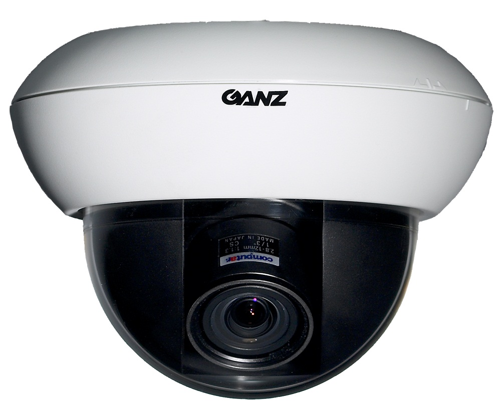 CBC ZC-DN5212NXAT 1/3 Inch Color Super Hi-Res True D/N Dome, 700 TVL, 2.8-12mm Auto Iris varifocal, NVT-0