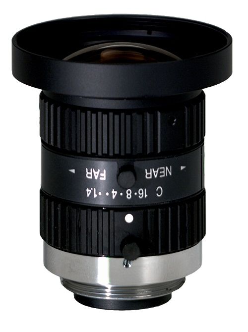 CBC H0514-MP2 Industrial/Megapixel lens 1/2 Inch 5mm f1.4 w/locking iris and focus, C-mount-0