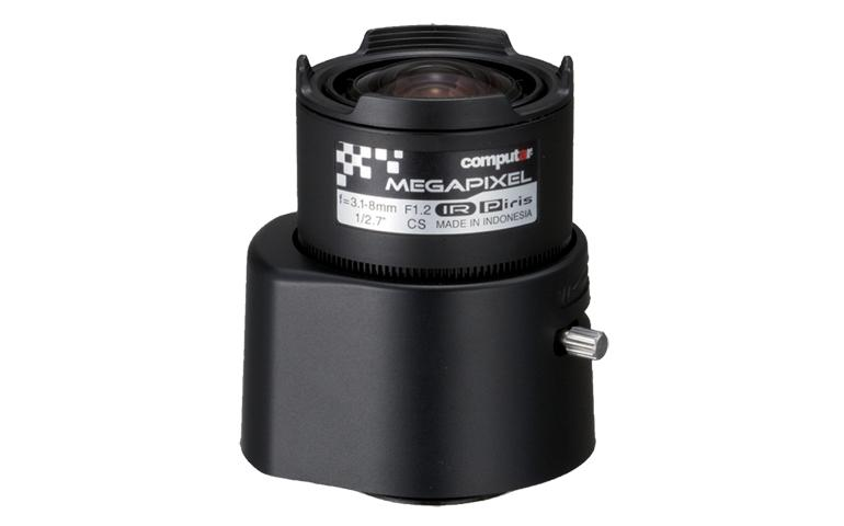 "CBC AG3Z3112KCS-MPIR ""A"" Series 3 Megapixel, 1/2.7 Inch 3.1-8mm F1.2 Varifocal, HD Series DC P-iris (CS Mount) Day/Night IR-0"
