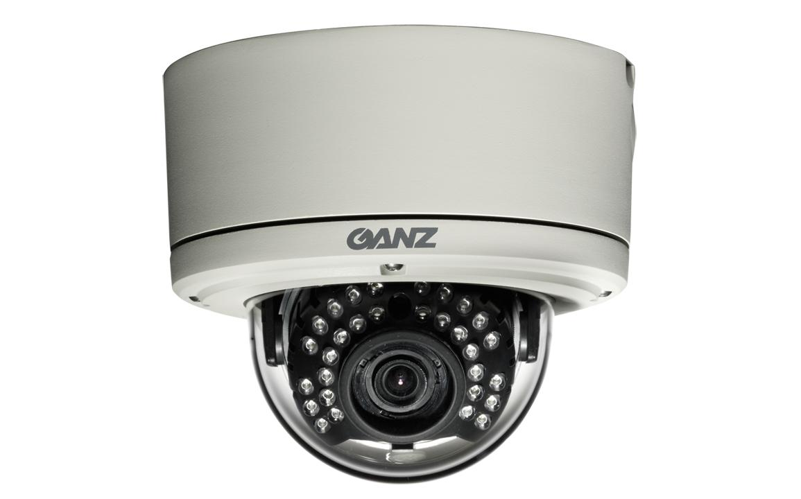 CBC ZC-DNT8312NBA-IR 600 TVL Outdoor Vandal-Resistant True Day/Night IR Dome-0