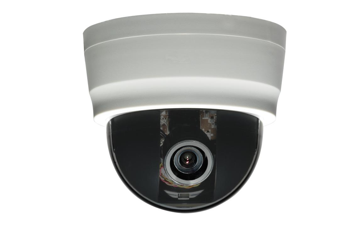 CBC DCB-39 1/3 inch 600 TVL High Resolution Color Dome camera w/ 3-9mm varifocal lens-0