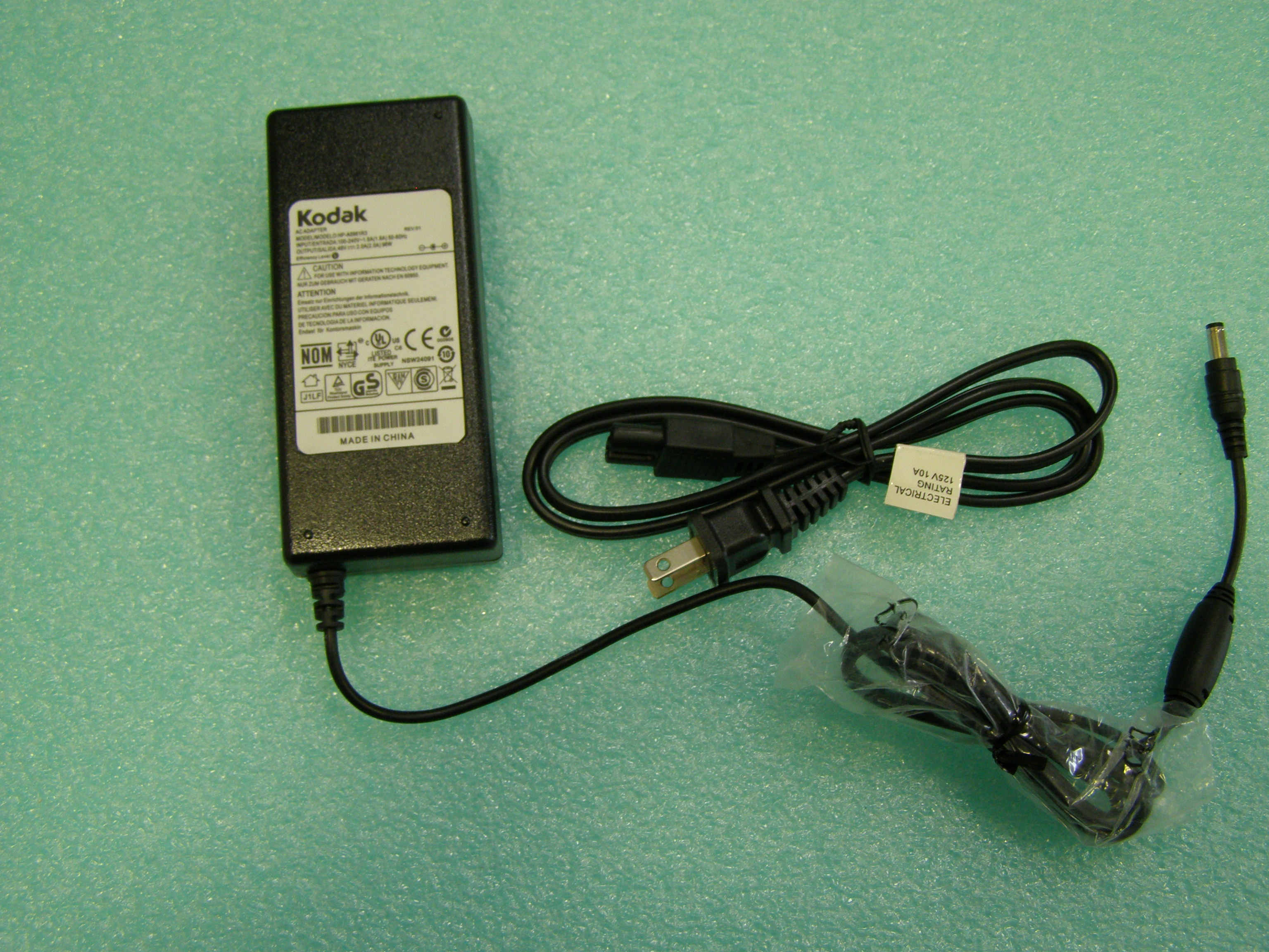 CCTV Suppliers SST482 48VDC, 2A Power Supply With Barrel 5.5/2.1mm, 3-Prong-2