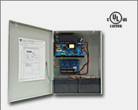 "Altronix AL1012ULXPD8CB 12VDC @ 10 amp, 115VAC input, AC and battery monitoring. Eight (8) PTC protected Class 2 Rated power limited outputs, grey enclosure 15.5""H x 12""W x 4.5""D. UL Listed (UL294) CUL Listed.-0"