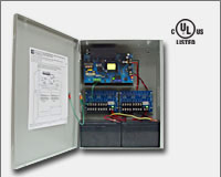 "Altronix AL1012ULXPD16CB 12VDC @ 10 amp, 115VAC input, AC and battery monitoring. Sixteen (16) PTC protected Class 2 Rated power limited outputs, grey enclosure 15.5""H x 12""W x 4.5""D. UL Listed (UL294) CUL Listed.-0"