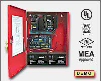 Altronix AL1002ULADA NAC Power Extender - 24VDC @ 10 amp. Two (2) Class A or Four (4) Class B NAC circuits. Operates 2-wire Horn/Strobes. Generates System Sensor, Gentex, Faraday and Amseco sync protocols. Two - 1 amp Aux. output. UL Listed Fire (UL 864,-0