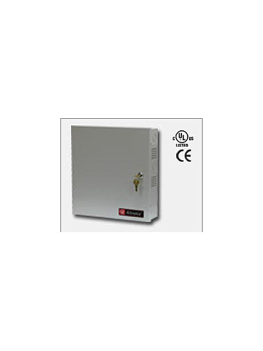 Altronix ALTV248ULCBHI Eight (8) individually electronically isolated PTC protected Class 2 Rated power limited outputs rated @ 1.6 amp each. 24VAC @ 12.5 Amp (300VA), 115VAC input. Grey enclosure. UL Listed (UL2044) CUL Listed.