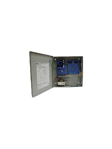 Altronix ALTV615DC416UCB Sixteen (16) PTC protected Class 2 Rated power limited outputs. 6-15VDC @ 4 amp, 115VAC input. Grey enclosure. UL Listed (UL2044) CUL Listed.