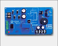 Altronix SMP3PM 12VDC or 24VDC @ 2.5 amp, AC and battery monitoring.