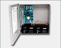 Altronix SMP7PMCTX 12VDC or 24VDC @ 6 amp, 115VAC input, AC and battery monitoring, grey enclosure