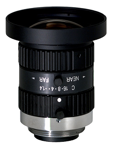 "CBC H0514-MP2 Industrial/Megapixel lens 1/2"" 5 mm. f1.4 w/locking iris and focus, C-mount"