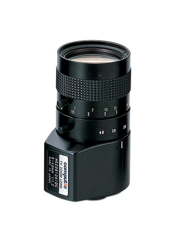 CBC H6Z0812AIVD 1/2 Inch 8-48mm f1.2 6X Manual Zoom, Video Auto Iris (C Mount)