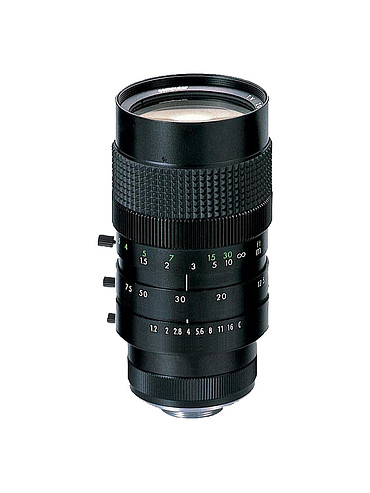 CBC M6Z1212-3S 2/3 Inch 12.5-75mm f1.2 6X Manual Zoom, Manual Iris (C-Mount) with locking set screws.