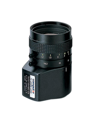 CBC T6Z5710AIDC 1/3 Inch 5.7-34.2mm f1.0 6X Manual Zoom, DC Auto Iris w/4-pin mini connector (CS Mount)