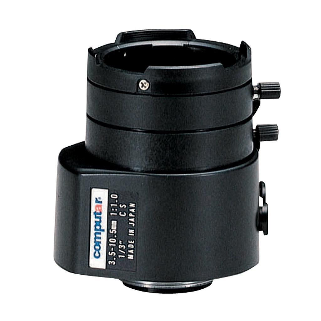 CBC TG3Z3510AFCS 1/3 Inch 3.5-10.5mm f1.0 Varifocal, Video Auto Iris (CS Mount)