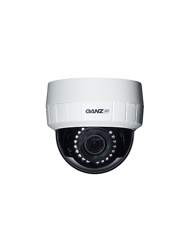 CBC ZN-D1MTP-IR PixelPro 720p HD IR Network Dome Camera, 3.0 - 9.0 mm.