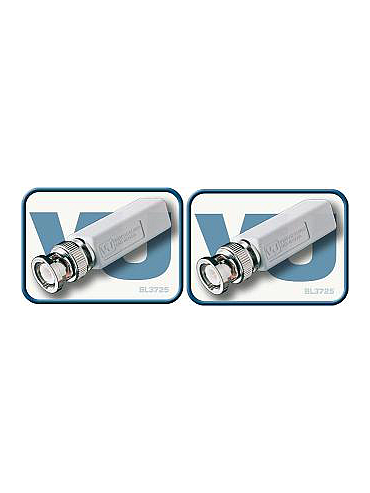 VideoBaluns BL3725-2 CCTV Video Passive Balun Connector (Pack of 2)