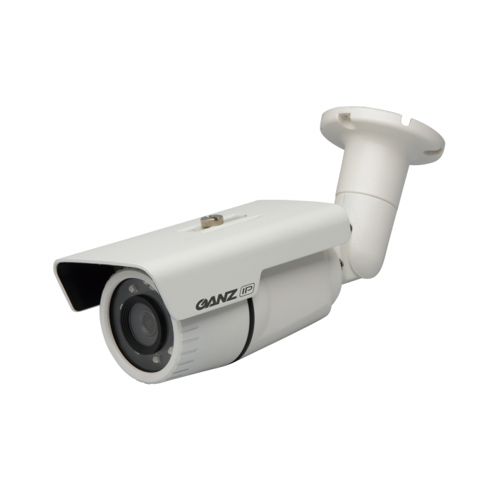 CBC ZN1A-N4NFN6 2 Megapixel Network IR Outdoor Bullet Camera, 4.3 mm. Lens