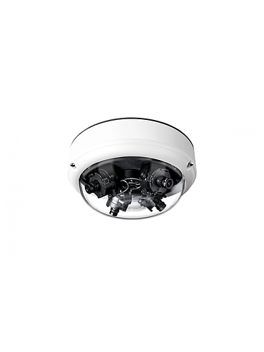 CBC ZN1A-MS4E 16 Megapixel 360° Surround View Outdoor IP Camera, No Lens