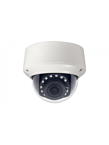 CBC ZN8-VD4M212-NIR 4 Megapixel Varifocal Outdoor IR IP Dome Camera, 2.7 - 12.0 mm. Lens