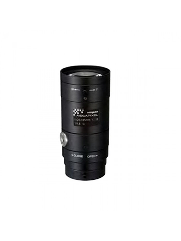 "CBC E5Z2518C-MP 1/1.8"" Megapixel Cameras, F1.8, 25.0 - 135.0 mm. Lens, C-Mount"