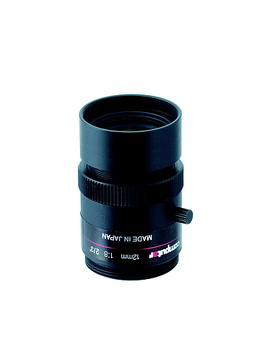 CBC M1256-MPW2-R 2/3 Type Cameras, Ruggedized 5 Megapixel, F5.6, C‐Mount, 12 mm. Lens