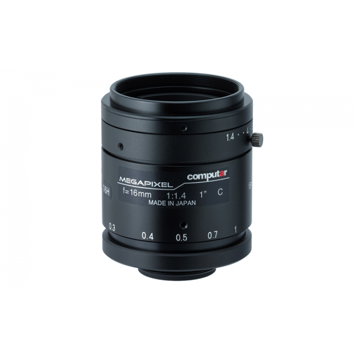 "CBC V1614-MP 1"" 16 mm. F1.4 2 Megapixel C Mount Lens"