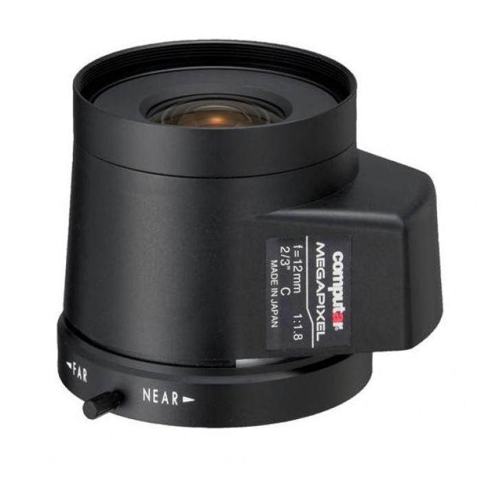 CBC MG1218KC-MP 5 MP P-Iris Fixed Focal Lens, 12 mm.
