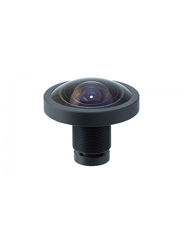 "CBC E1222KRY 1/1.7"" 1.2 mm. 4K Fisheye IR Board Lens"