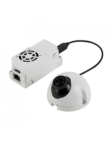 American Dynamics IPS02HFANWST2 2 Megapixel Indoor Network IP Illustra Pro Micro Dome Camera, 2.8 mm. Lens