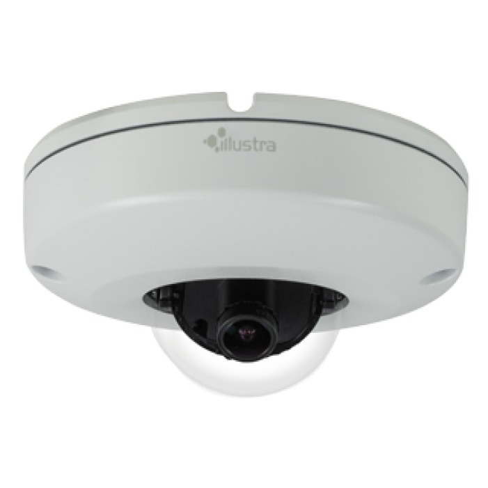 American Dynamics IPS02CFOCWST 2 Megapixel Network Outdoor Mini Dome Camera, 2.8 mm. Lens