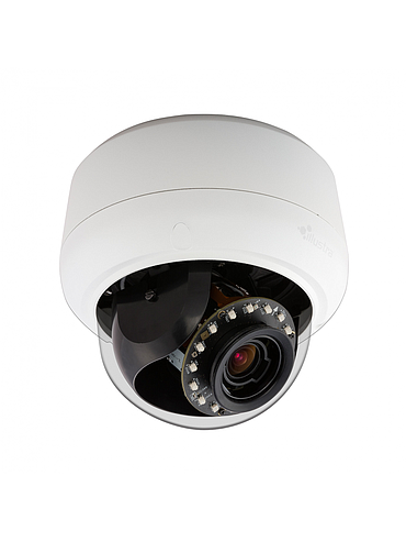 American Dynamics IPS03D0OCWTT 3 Megapixel Network IR Outdoor Mini Dome Camera, 1.8 - 3.0 mm. Lens