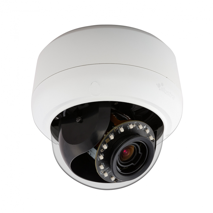 American Dynamics IPS05D0OCWTY 5 Megapixel Network IR Outdoor Mini Dome Camera, 1.8 - 3.0 mm. Lens