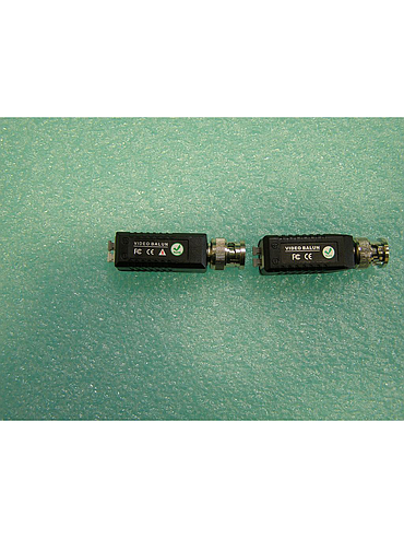 CCTV Suppliers SST-RVBL CCTV Video Passive Tool-Less Balun Connector (Pack of 2)