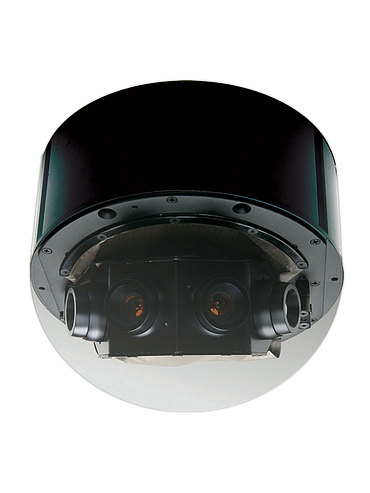 CBC AV8185DN 1/2 Inch 8 Megapixel 180 Degree IP Dome, PoE