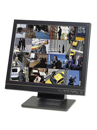 "CBC ZM-L17A 17"" LCD Monitor, High Brightness"