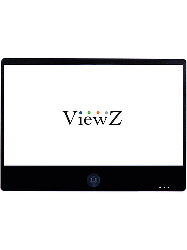 "ViewZ VZ-PVM-Z4B3 32"" Full HD Widescreen LED Backlit Monitor with Built-In 1.3MP Camera (Black)"