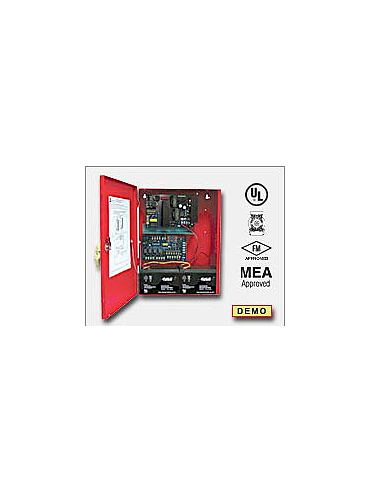 Altronix AL1002ULADA NAC Power Extender - 24VDC @ 10 amp. Two (2) Class A or Four (4) Class B NAC circuits. Operates 2-wire Horn/Strobes. Generates System Sensor, Gentex, Faraday and Amseco sync protocols. Two - 1 amp Aux. output. UL Listed Fire (UL 864,