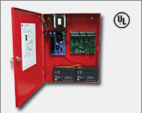 Altronix AL1042ULADA NAC Power Extender - 24VDC @ 10 amp. Four (4) Class A or Four (4) Class B NAC circuits. Operates 2-wire Horn/Strobes. Generates System Sensor, Gentex, Faraday and Amseco sync protocols. Two - 1 amp Aux. output. UL Listed Fire (UL 864,