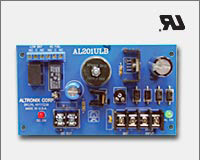 Altronix AL201ULB 12VDC or 24VDC @ 1.75 amp, AC and battery monitoring. UL Recognized component.
